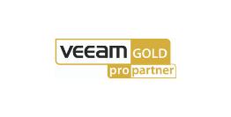 logo veeam gold