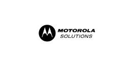 logo motorola solutions nero